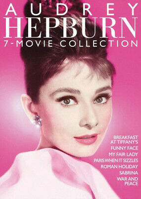 The Audrey Hepburn 7-Film Collection [New DVD] Boxed Set, Restored, Subtitled,