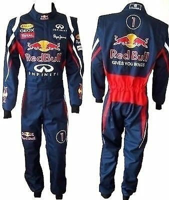 RED BULL Go Kart Race Suit CIK FIA Level 2 Approved with free gift Gloves