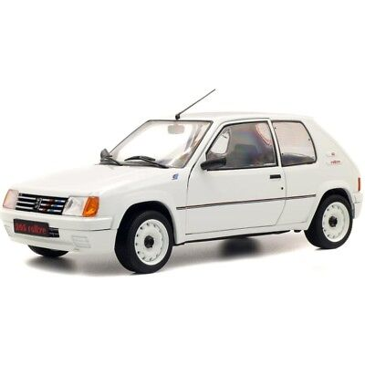 Peugeot 205 Rally 1987 White 1/18 - S1801701 SOLIDO