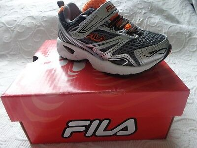 481390e1989d FILA USA ROYALTY Sneaker Shoes Small Boy Toddler US Size 10.5