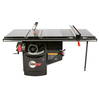 SawStop 230V 3Ph 5HP 13A Industrial Cabinet Saw w/ 36 in. Fence ICS53230-36 New