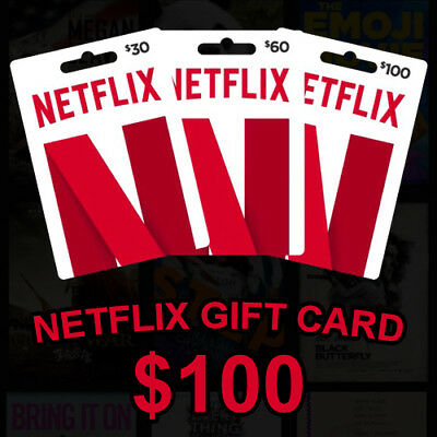 ⭐ $100 Netflix GiftCards | Email Delivery | WORLDWIDE | Discount | 100% LEGAL ⭐