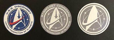 • Star Trek • Uss Discovery & Starfleet Command • Prop Replica Vinyl Decals •