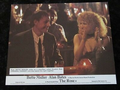 The Rose lobby card # 2 - Bette Midler, Frederic Forrest