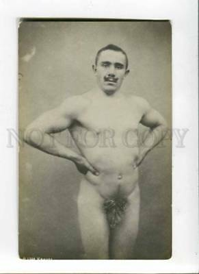 288171 KRAUZE Latvian WRESTLER WRESTLING vintage PHOTO