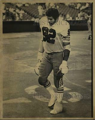Press Photo Football offensive tackle Claude Matthews - sas15309