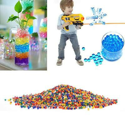 10000pcs Colored Crystal Water Paintball Bullets Growing Swelling Balls 9-11mm