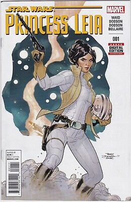 Marvel Comics Star Wars Princess Leia #1 Nm Unread #74957-4 Br1