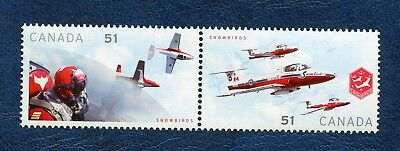 CANADA SC# 2159a CANADIAN FORCES SNOWBIRDS SE-TENANT PAIR , MNH VF STAMPS