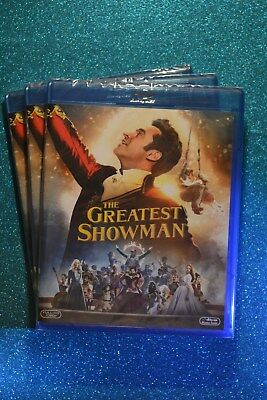 New & Sealed The Greatest Showman Bluray EU Import (Plays in English)