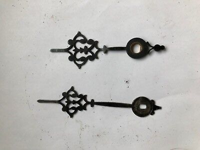 mantel clock hands fancy 6mm round 2mm slot holes