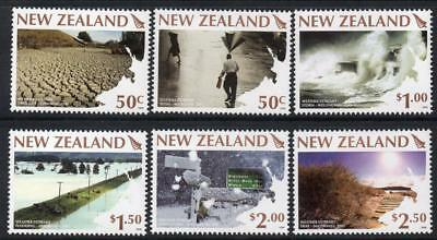 NEW ZEALAND MNH 2008 Weather Extremes