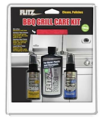 Flitz BBQ41504 Bbq And Stainless Steal Grill Care Kit