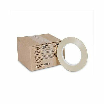 "3m 3M-6307 Scotch Fine Line Tape 218, 3/16"" X 60 Yd"