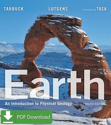 Earth An Introduction to Physical Geology (12th Edition) by Edward [PDF] EB00K