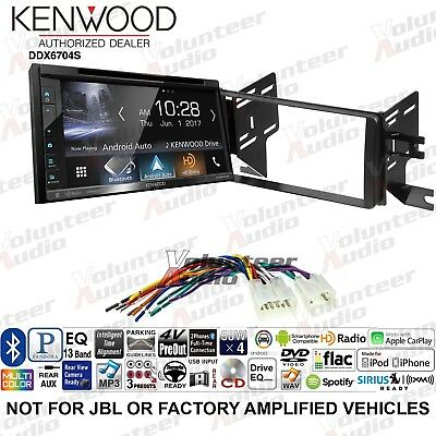 KENWOOD DVD/IPHONE/ANDROID/BLUETOOTH PLAYER Receiver For 07-14