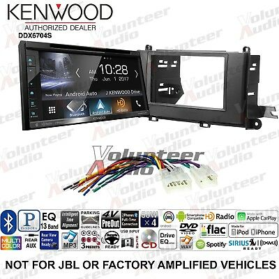 KENWOOD DVD/IPHONE/ANDROID/SPOTIFY/BLUETOOTH RECEIVER For 2013