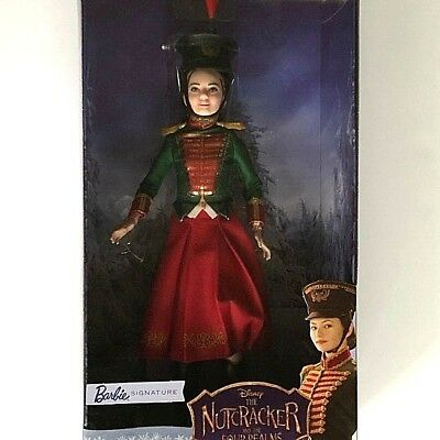 Disney The Nutcracker and the Four Realms Barbie Clara's Soldier Uniform