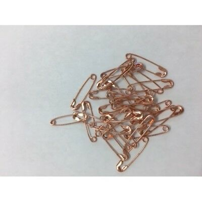 50-1000 Rose Gold Standard Metal 19 mm Safety Pins Craft Sewing