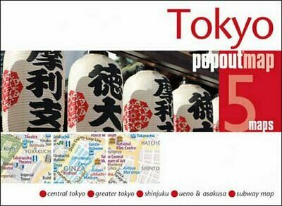 Tokyo Popout Map (Popout Maps) by PopOut Maps Book The Cheap Fast Free Post