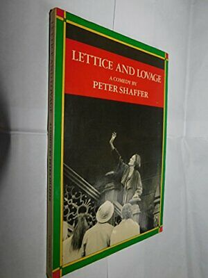 Lettice and Lovage by Shaffer, Peter Paperback Book The Cheap Fast Free Post