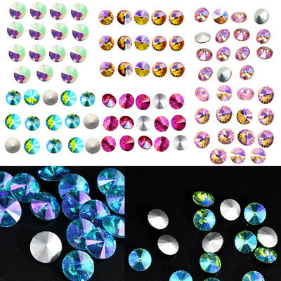 Wholesale new color 15pcs XILION ELEMENTS Crystal glass Rivoli loose Beads 14mm