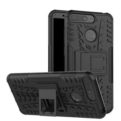 OUTDOOR PANZER STAND HÜLLE für HONOR 7A HANDY COVER TASCHE SILIKON CASE ETUI