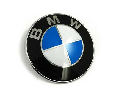 1x STEMMA-COFANO-PER-BMW-82-MM-LOGO-EMBLEMA-FREGIO-BADGE-3M-82MM