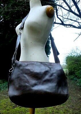 Antique French  Leather Superb Quality  Hunting Game Bag