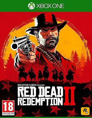 Red Dead Redemption 2 Xbox One Game (UK NEW & SEALED) Wild West Action Adventure
