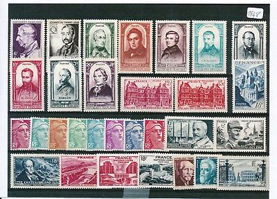 Timbres De France Annee Complete 1948 Neuf Luxe **