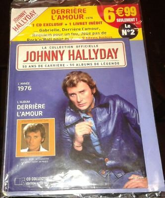 Johnny Hallyday Livre Cd Collection Officielle Neuf Derriere L Amour