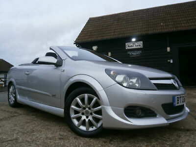 08 VAUXHALL ASTRA 1.6 16v CONVERTIBLE SPORT TWIN TOP 67K FSH VRX STYLING SUPERB