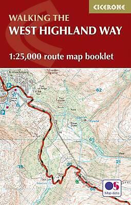 West Highland Way Map Booklet: 1:25,000 OS Route Mapping by Terry Marsh Paperbac