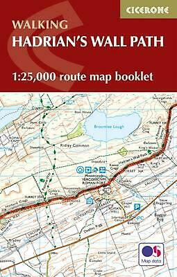 Hadrian's Wall Path Map Booklet: 1:25,000 OS Route Mapping by Mark Richards Pape