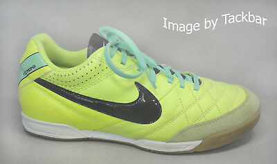a904a721d NIKE TIEMPO NATURAL III Black Indoor Soccer Shoes 366206-018~Men's ...