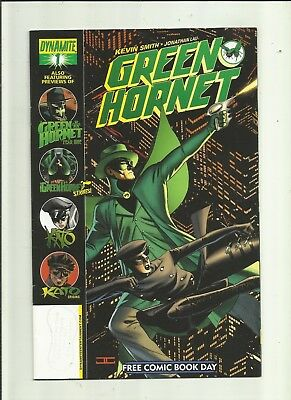 Green Hornet . 1 . . Free Comic Book Day .Dynamite Entertainment.