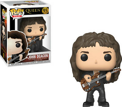 Queen - John Deacon - Funko Pop! Rocks: (2019, Toy NEUF)