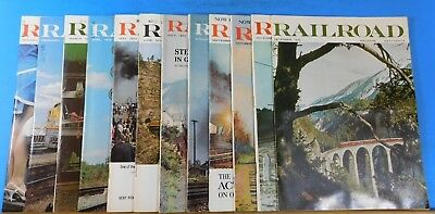 Railroad Magazine Complete Year 1970 12 issues