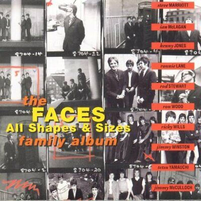 Foreigner - All Shapes & Sizes : The Faces Family Album - Foreigner CD 4DVG The
