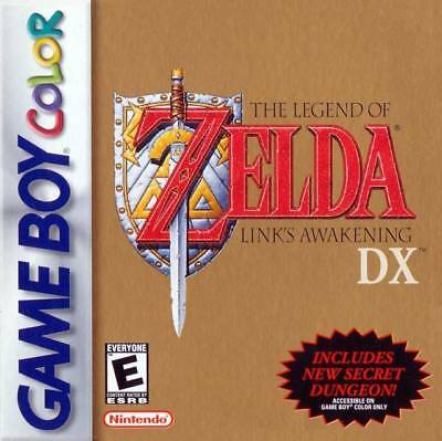 The Legend Of Zelda Link's Awakening Dx - Game Boy Gbc