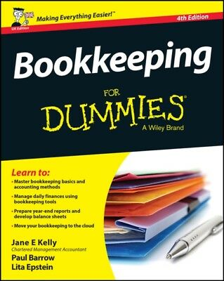 Bookkeeping For Dummies (For Dummies (Business & Personal Finance...
