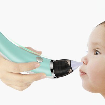Electric Nasal Aspirator Baby Nose Cleaner Kid Nasal Cleaner With Nose Tips DZ
