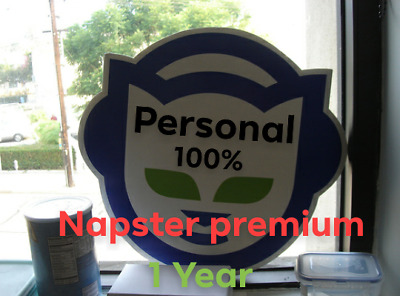 Napster Premium 1 Year 365 Days 100% account personal Private FAST Delivery