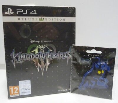 Kingdom Hearts Iii 3 - Deluxe Edition + Gift - Ps4 Playstation 4 Vers. Ita New