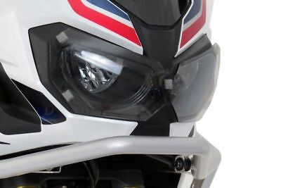 Honda Crf1000 L Africa Twin Clear Headlight Lamp Guard Cover Protector 091913
