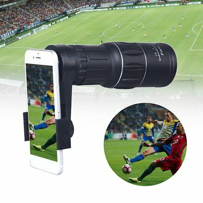16x52 Zoom Monocular Telescope Lens Camera Scope for iPhone X / 8 S9 Note 8 MI