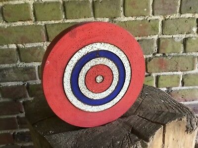 ANTIQUE VINTAGE FRENCH FAIRGROUND TARGET LARGE VERSION APPROX  20.5  cm
