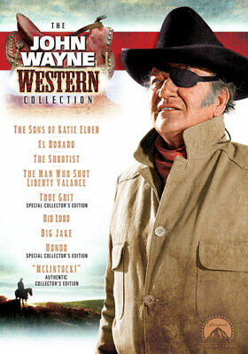 John Wayne Western Collection (DVD,2007)