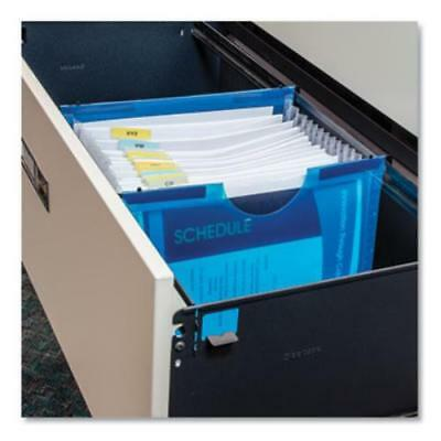 """C-Line Products 58215 Expanding File With Hanging Tabs, 1"""" Exp, 13 Sections,"""